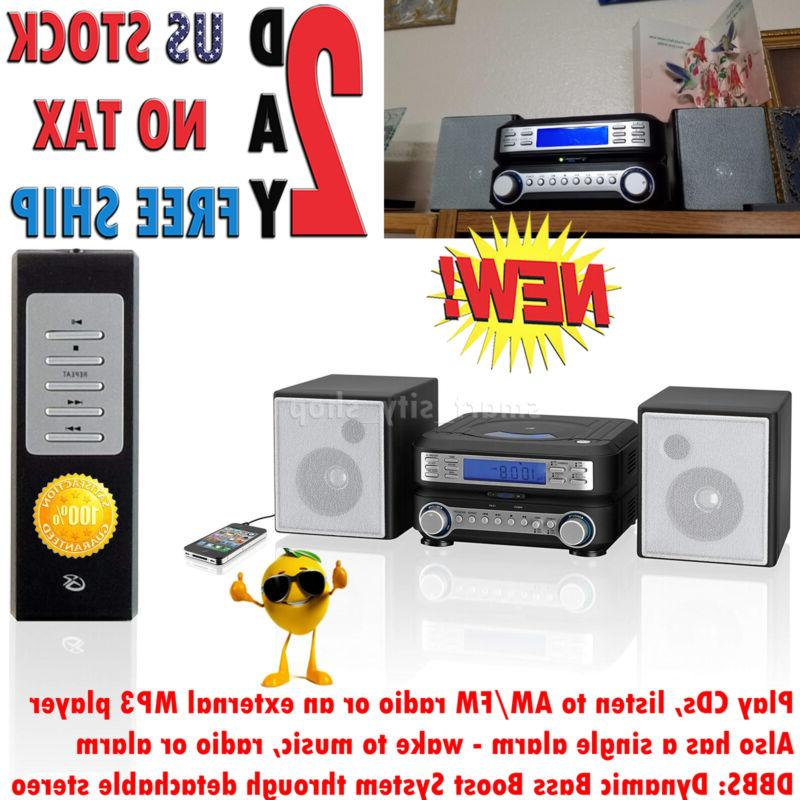 home stereo system cd am fm tuner