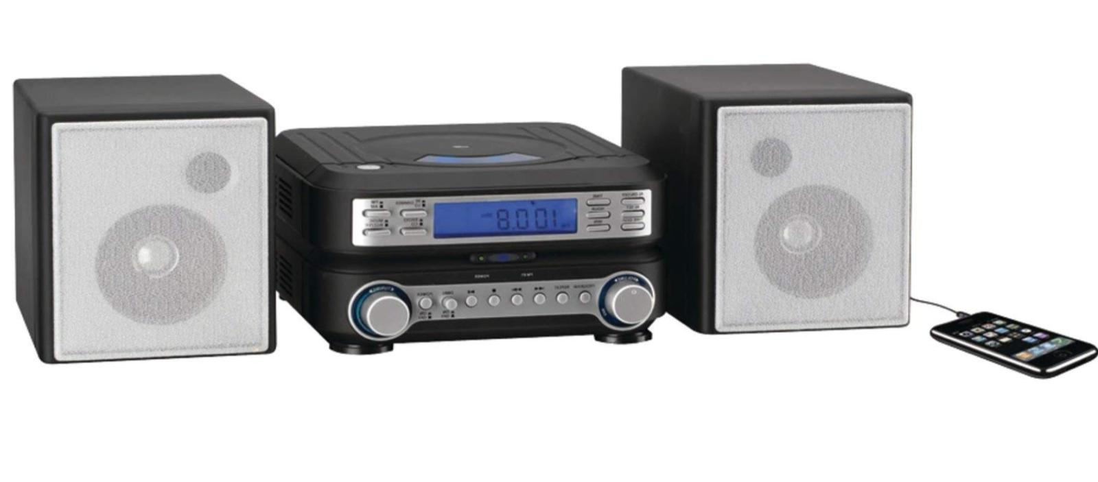 home stereo system cd mp3 player