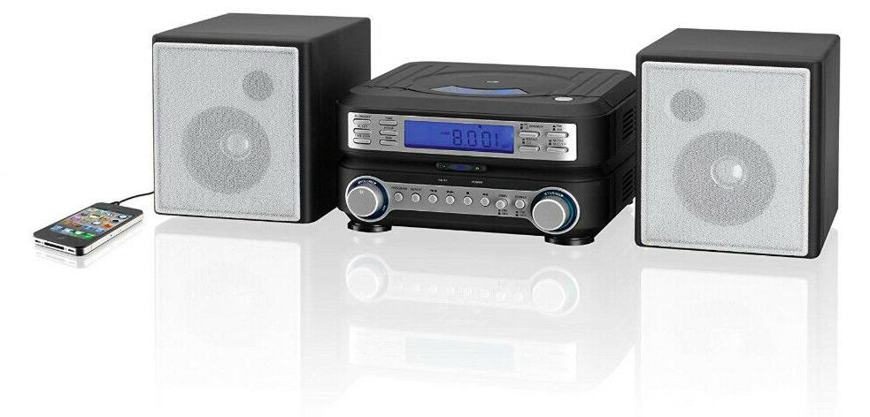 Home CD Player Speakers Auxillary Input Remote