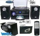 Home Jensen Stereo System Receiver Compact Shelf AM/FM Radio