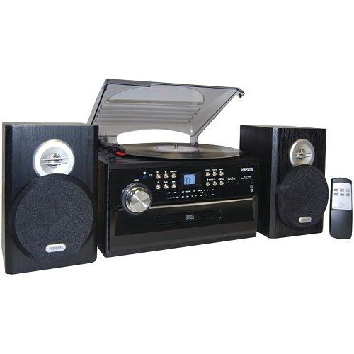 Jensen Home Turntable Radio Jack