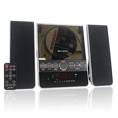 home stereo system wall mount cd player