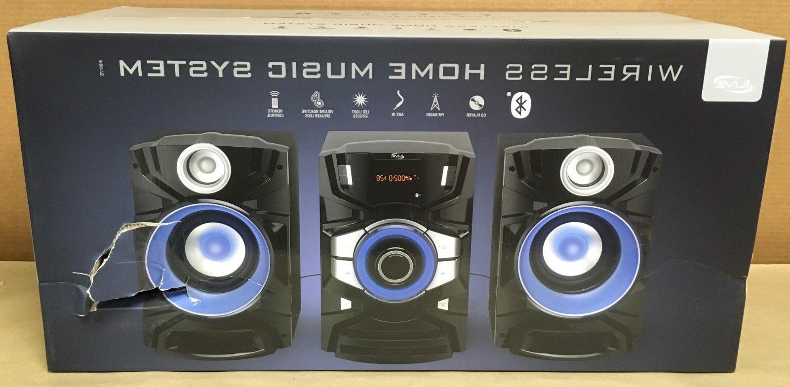 ilive ihb617b bluetooth wireless home music system