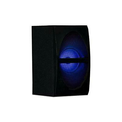 Acoustic LED 2.1-Channel System Black (AA210