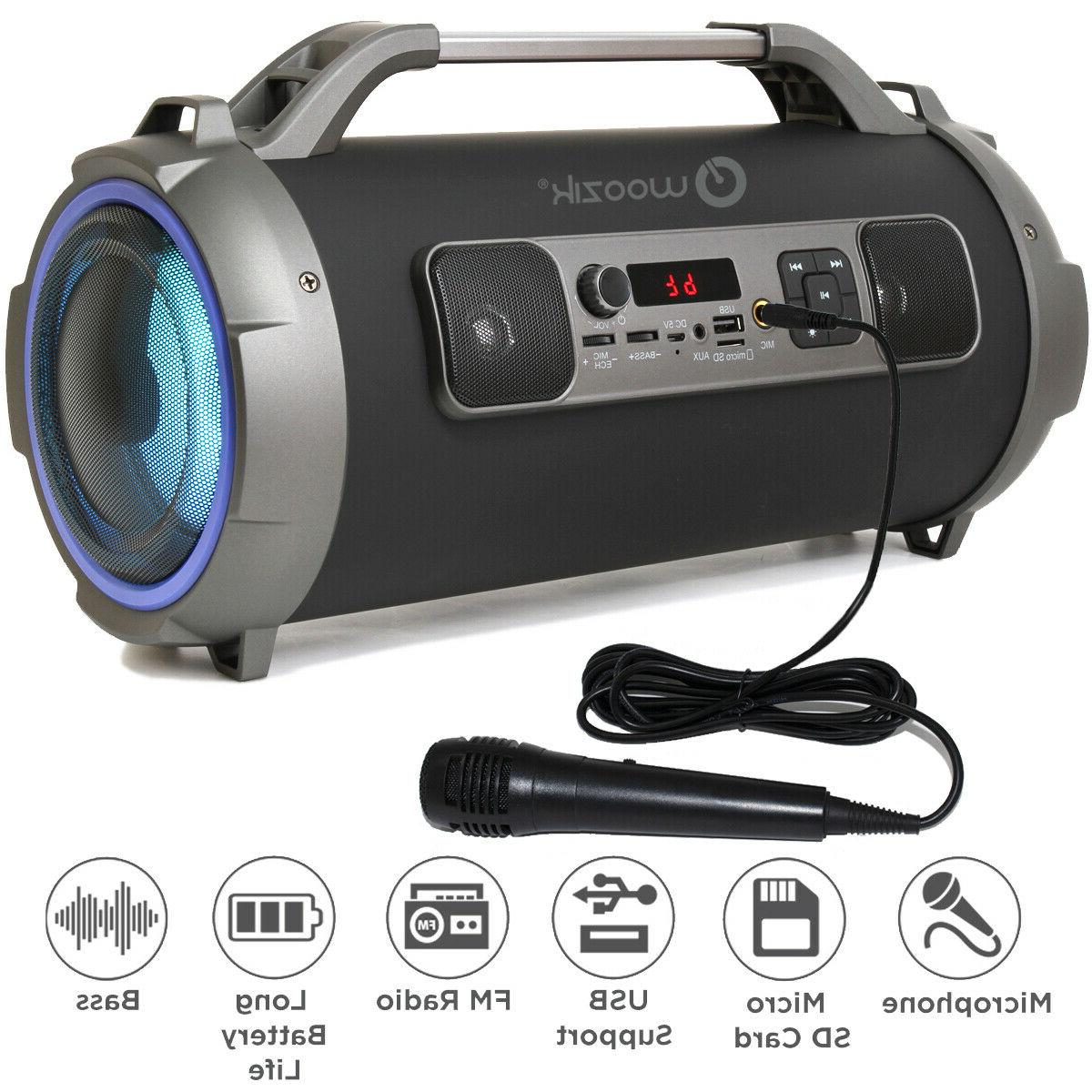 LOUD Wireless Boombox Aux Rechargeable Stereo