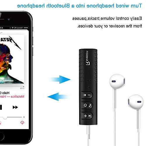 Mini Bluetooth 4.1 Car Adapter Car Kits Wireless Car/Home Stereo Sound System