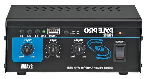 mini stereo power amplifier w