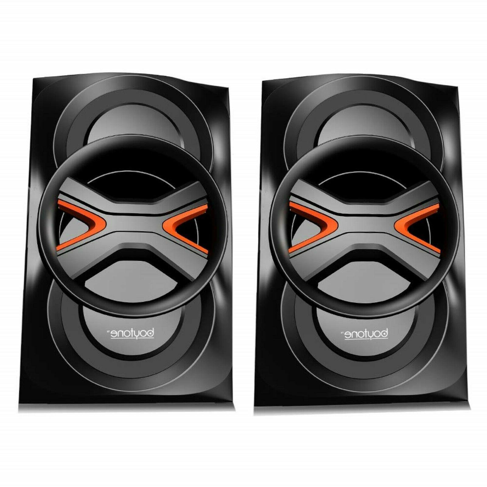 Multimedia System Speaker MP3 Remote