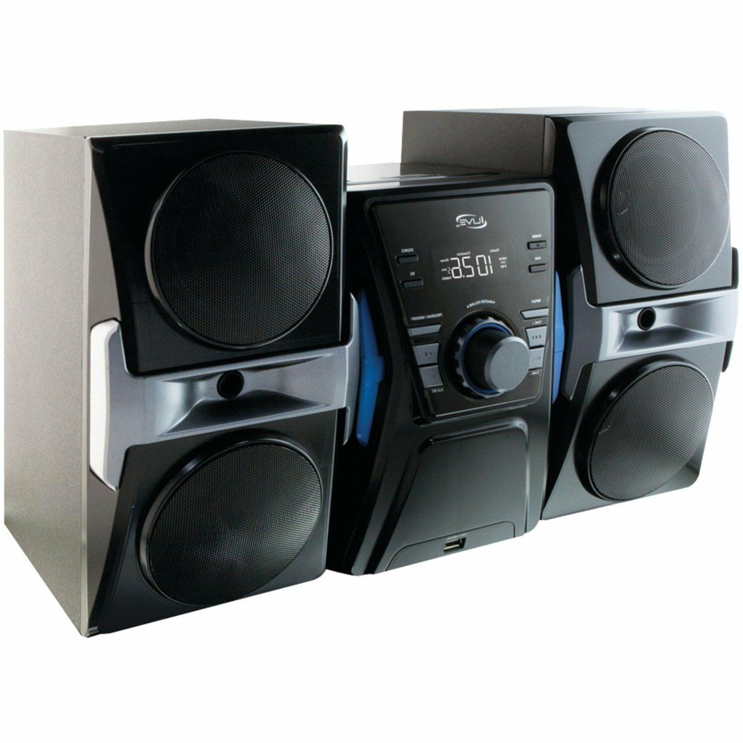 NEW Bluetooth Compact CD Shelf Stereo Speaker Music System.F