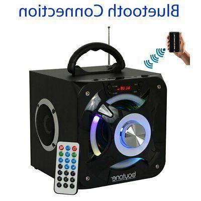 new bt 32d portable bluetooth fm radio