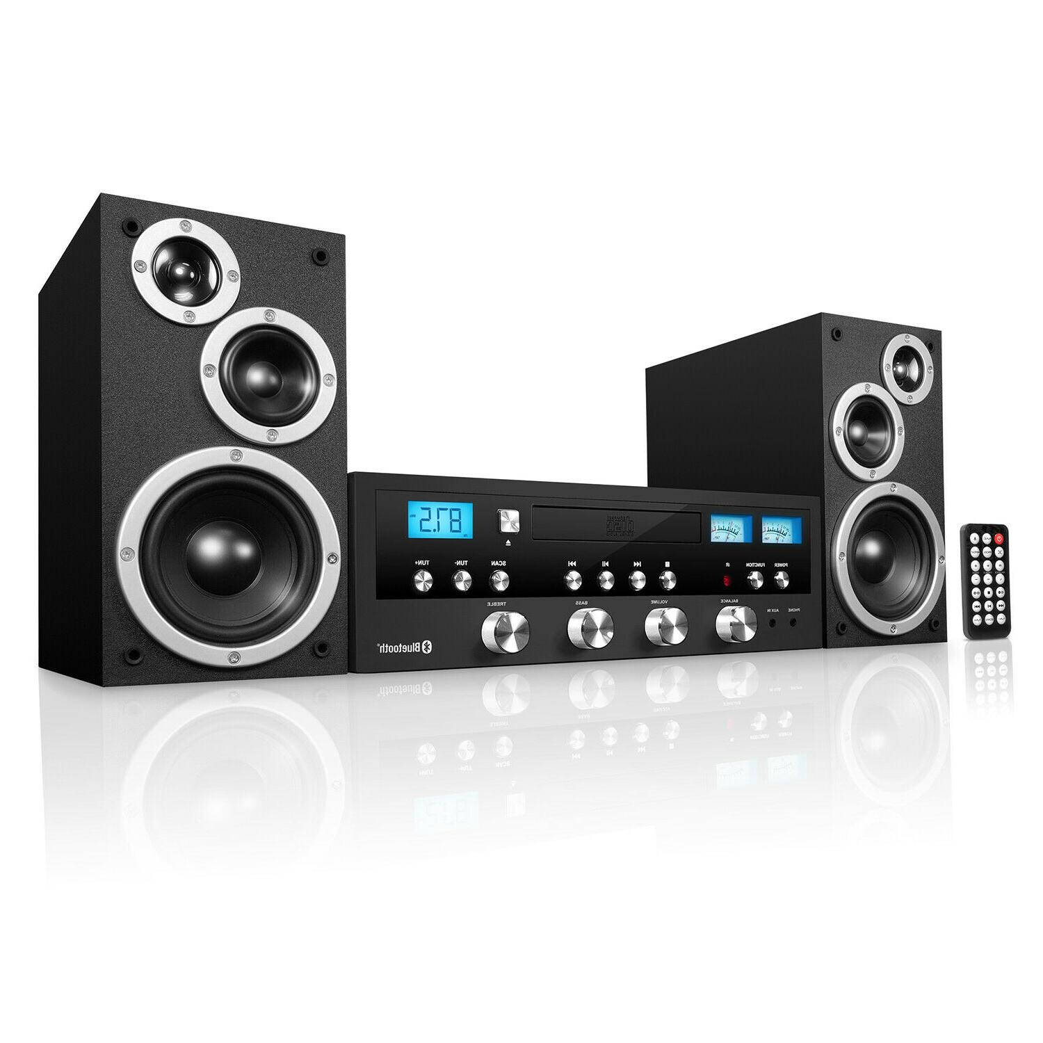 Sound System For House Stereo With Bluetooth Home Basement S