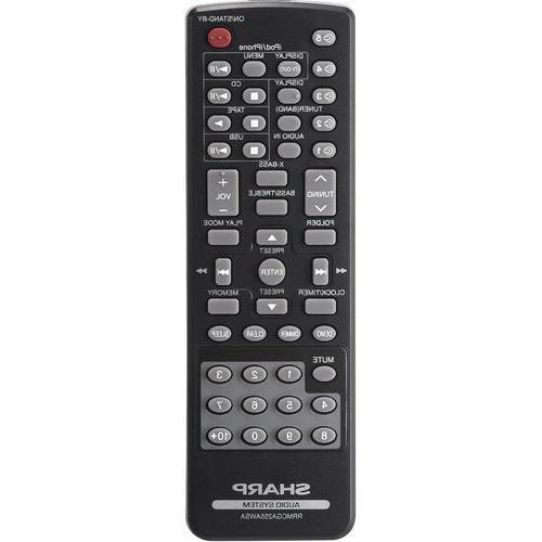 Sharp 240-Watt Audio With Multi-Play Changer, Cassette Deck, iPod/iPhone Dock, Remote Control