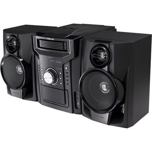 Sharp Hi-Fi Audio With Changer, Dock, AM/FM Radio Remote