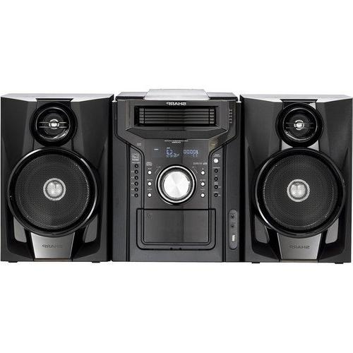Sharp Audio With 5-Disc Changer, Cassette Deck, Dock, AM/FM Remote