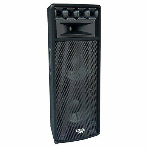 Pyle PADH212 1600W Heavy Duty Speaker MDF Construction with
