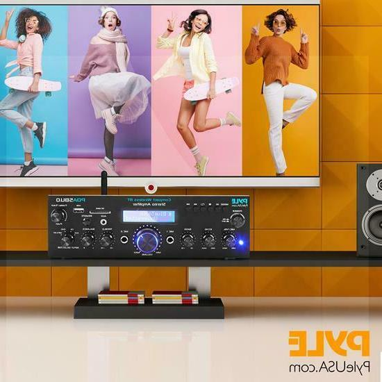 Pyle Home Bluetooth Desktop System FM