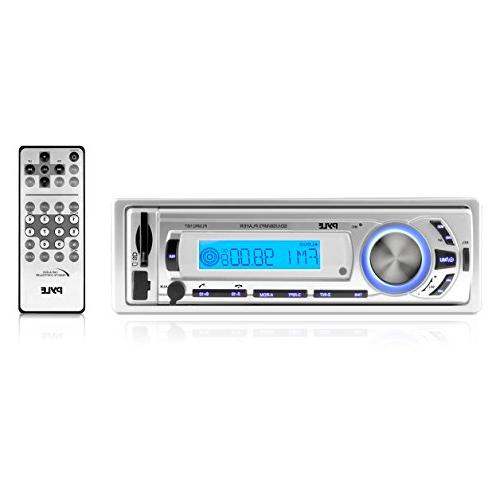 Pyle PLMR21BT Flash Audio W RMS Compatible - LCD MP3, - AM, FM 30 AM/FM Preset - - Detachable Front Panel