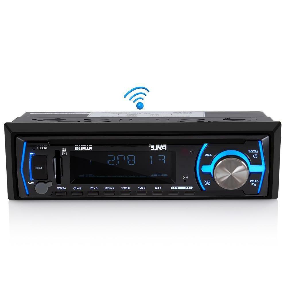 Pyle Bluetooth MP3/USB/Aux/SD Card w/ Remote