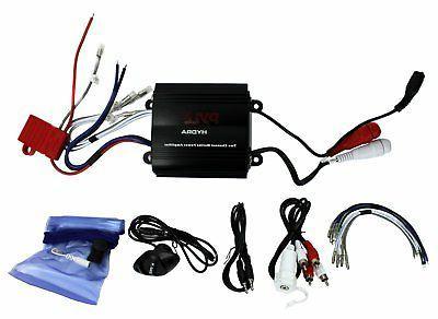 plmrmp3b waterproof micro marine amplifier