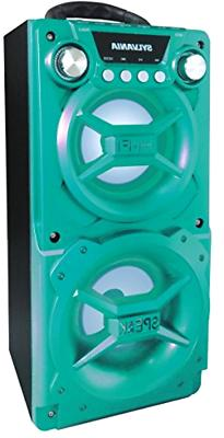 Portable Bluetooth Speaker Turquoise For Home Party Wedding