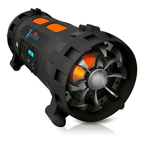 portable boombox stereo speaker w