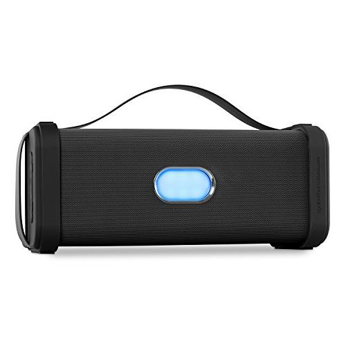 Innovative Portable Weatherproof Bluetooth Speaker with Carrying Handle