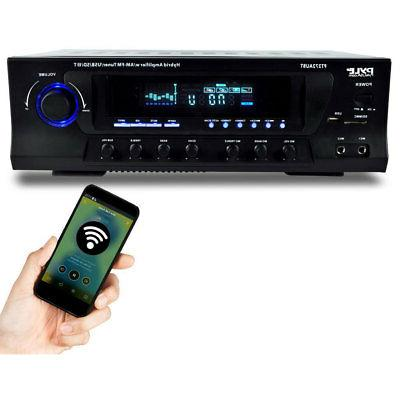 Pyle PT272AUBT Home Stereo with MP3 SD Radio