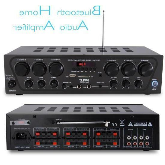 RB Audio 6-Ch. Source Stereo