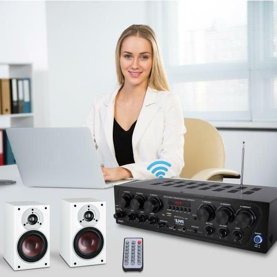 RB Bluetooth Audio Amplifier, 6-Ch. Source Stereo System