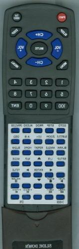 Replacement Remote Control for GPX DH300B, REMDH300B