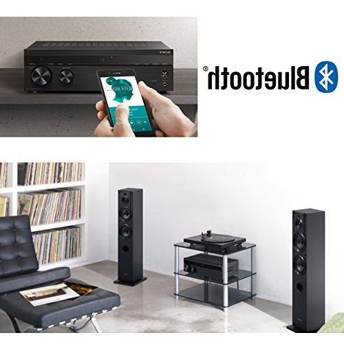 Sony Bluetooth Channel Receiver with Turntable 4 Inputs, A/B Speaker Function & FM Tuner Remote Ultra Gentle Cloth
