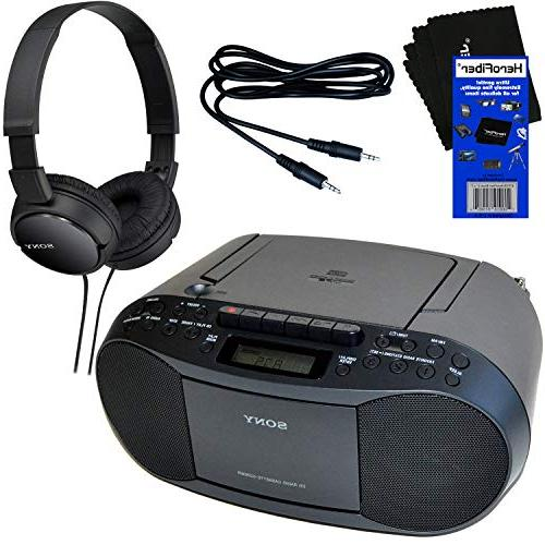 sony portable cd player boombox