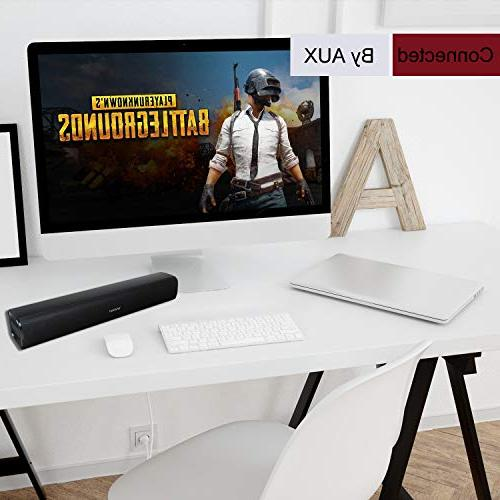 Vinoil Bluetooth Bar for PC, and Gaming 20W Speaker