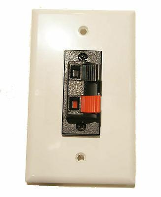 speaker terminal wall plate 2 spring clip