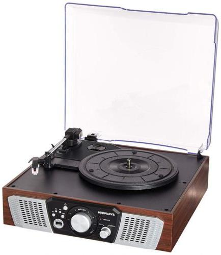 src831 3 speed turntable with built in