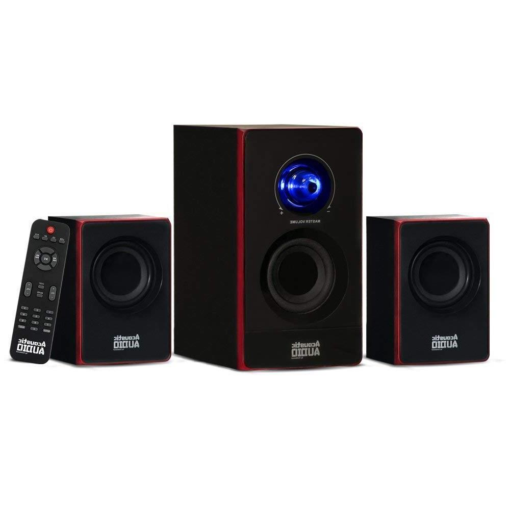 Stereo Audio Shelf Sound Speakers Radio