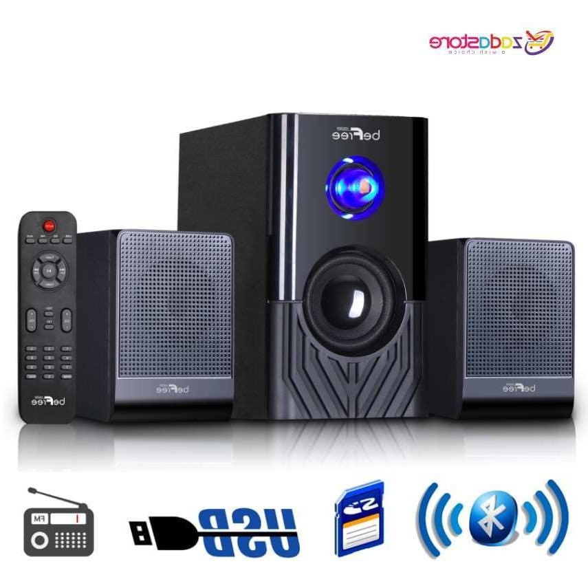 Surround 2.1 Channel Multimedia Speaker System Stereo