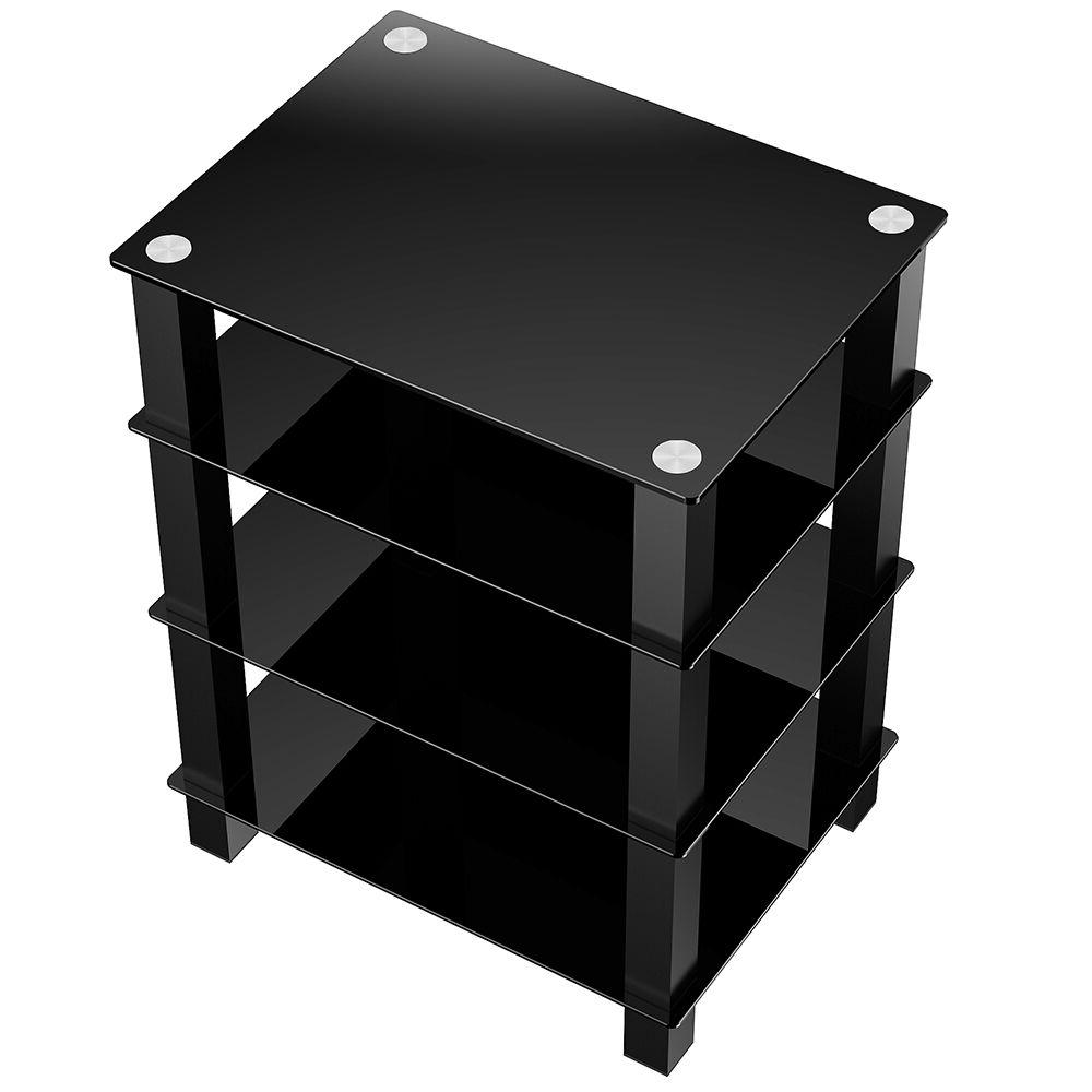 TV Entertainment Center Stand Console DVD Shelves