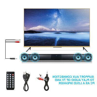 TV Theater Soundbar Bluetooth Speaker HiFi Y9E0