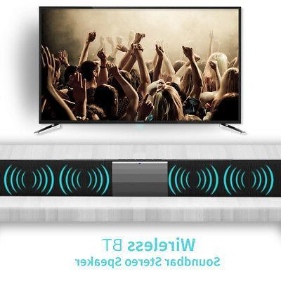 TV Home Sound Bar Subwoofer Audio System