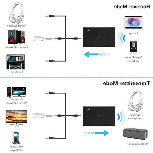 TOOGOO Wireless 3.0 Receiver Adapter Support for TV Speaker Home Stereo