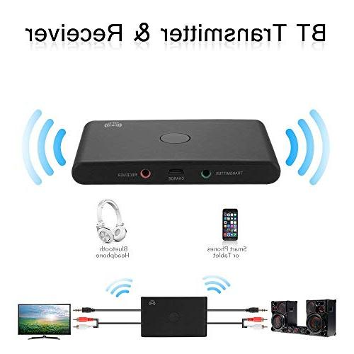 TOOGOO TX6 Wireless 3.0 Receiver Adapter Support NFC for PC Speaker Home Stereo System