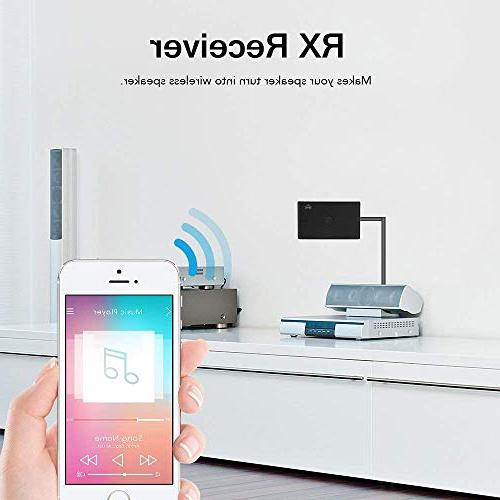 TOOGOO BT 3.0 Transmitter Adapter Support A2DP NFC for Home Stereo
