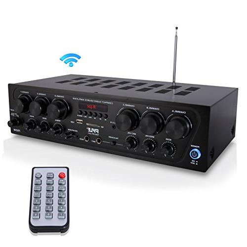 Upgraded 2018 Wireless Karaoke 750 Watt Audio Sound Amplifier 2 Echo, for PA -