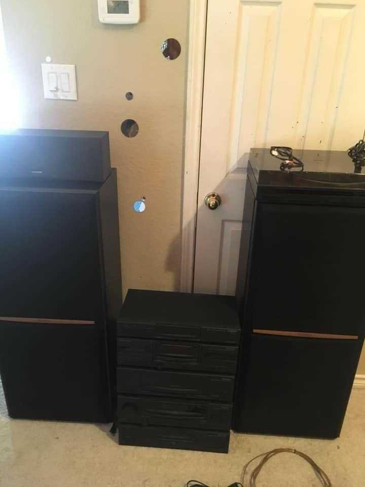 used home stereo system