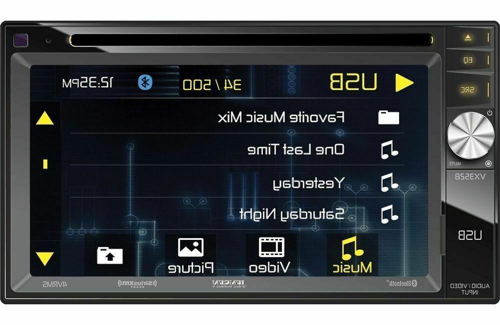 "Jensen VX3528 6.2"" 2-Din Digital Car Stereo Receiver Camera"