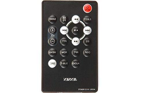 Jensen VX4014 1 DIN DVD CarPlay Receiver
