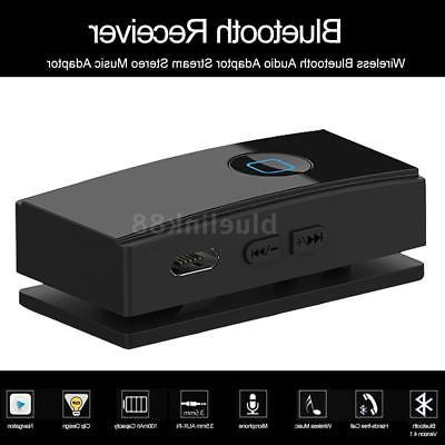 Wireless Bluetooth 4.1 Receiver Stereo Music Adapter For Hom