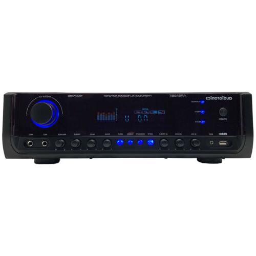 Wireless Bluetooth Power System 200W Channel Receiver MIC Theater Studio - PDA65BU