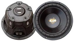 Lanzar 8 inch Car Subwoofer Speaker - Black Non-Pressed Pape